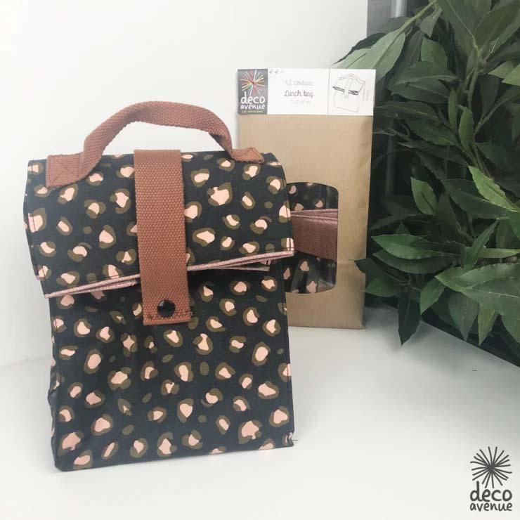 Kit Lunch bag léopard